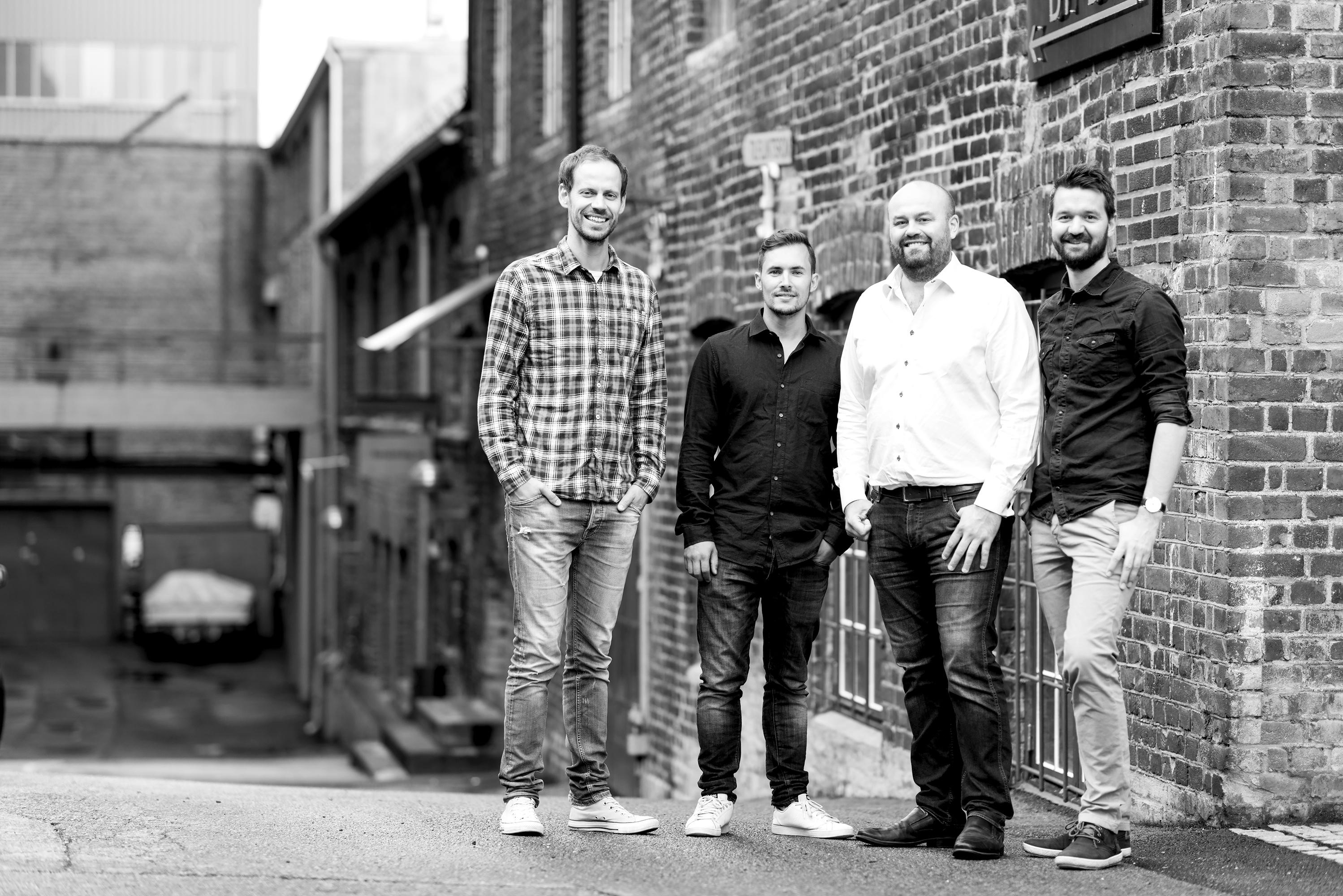 Scelto - Herman, Håken, Ole Tommy og Tor Eric. Foto: Anton Soggiu